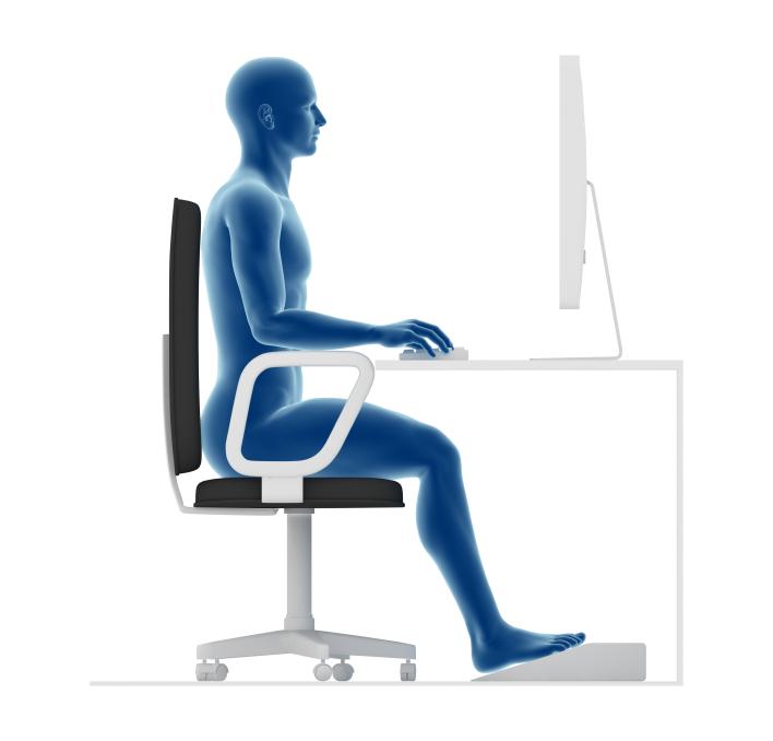 Travail de bureau et ergonomie Complexe Physio Mouvement Sant